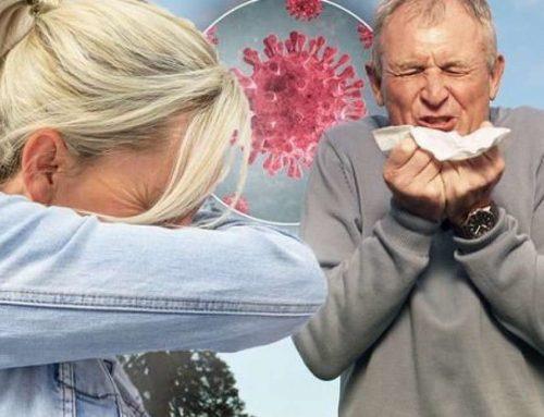 Come distinguere l'allergia dal coronavirus?